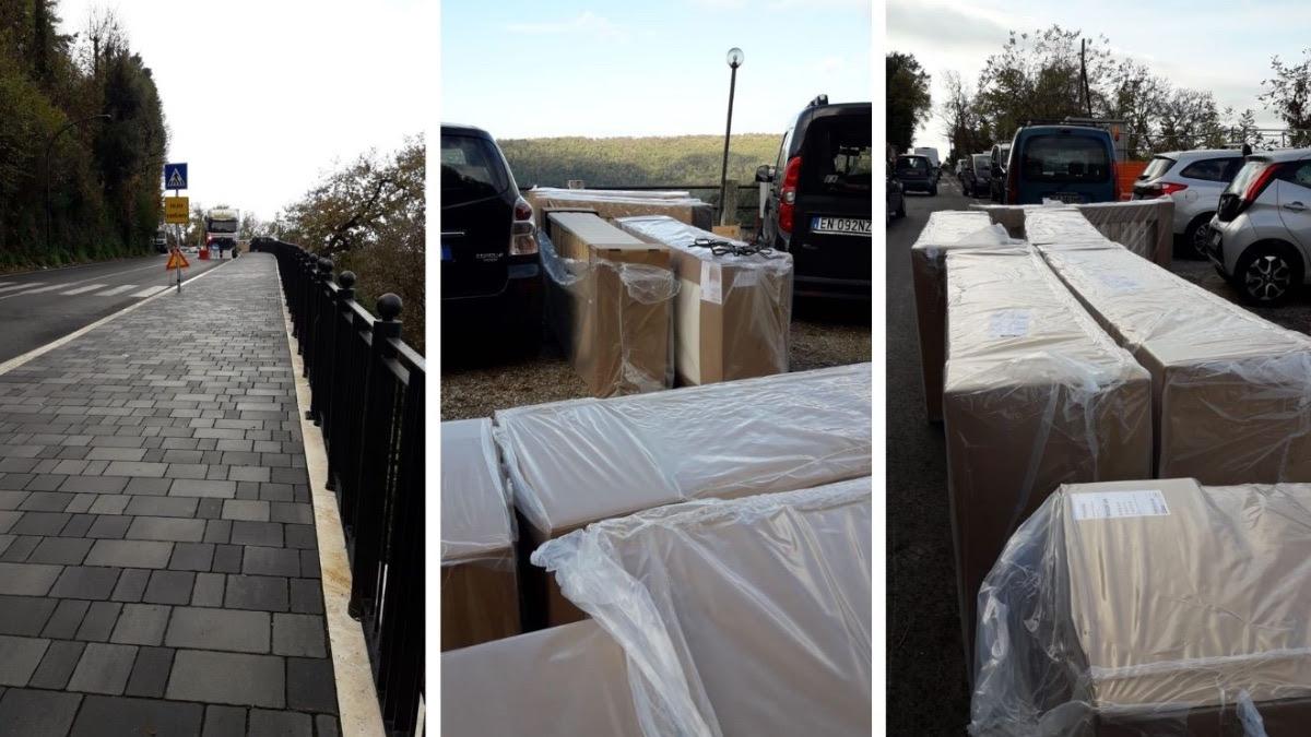 Nye senge ankommer til Villa Diana